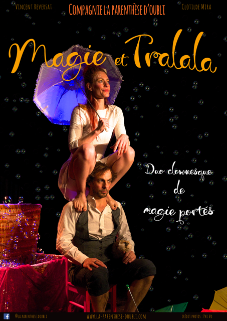 "Spectacle petite enfance – ""Magie & Tralala"""