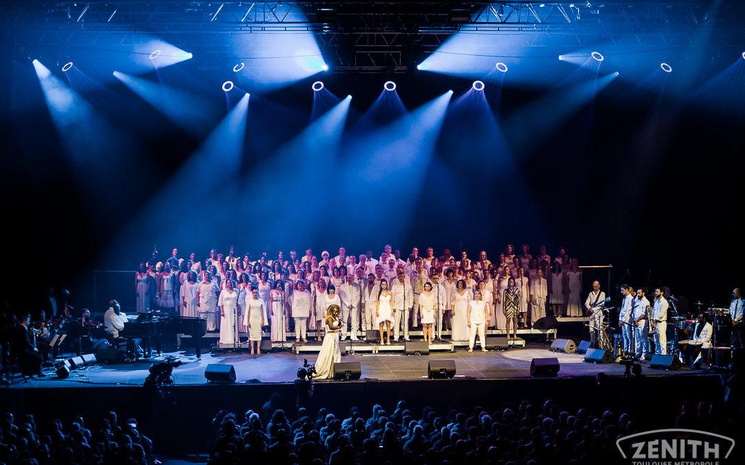 Réservations obligatoires pour le concert de DEEDEE DANIEL & LE GOSPEL WALK
