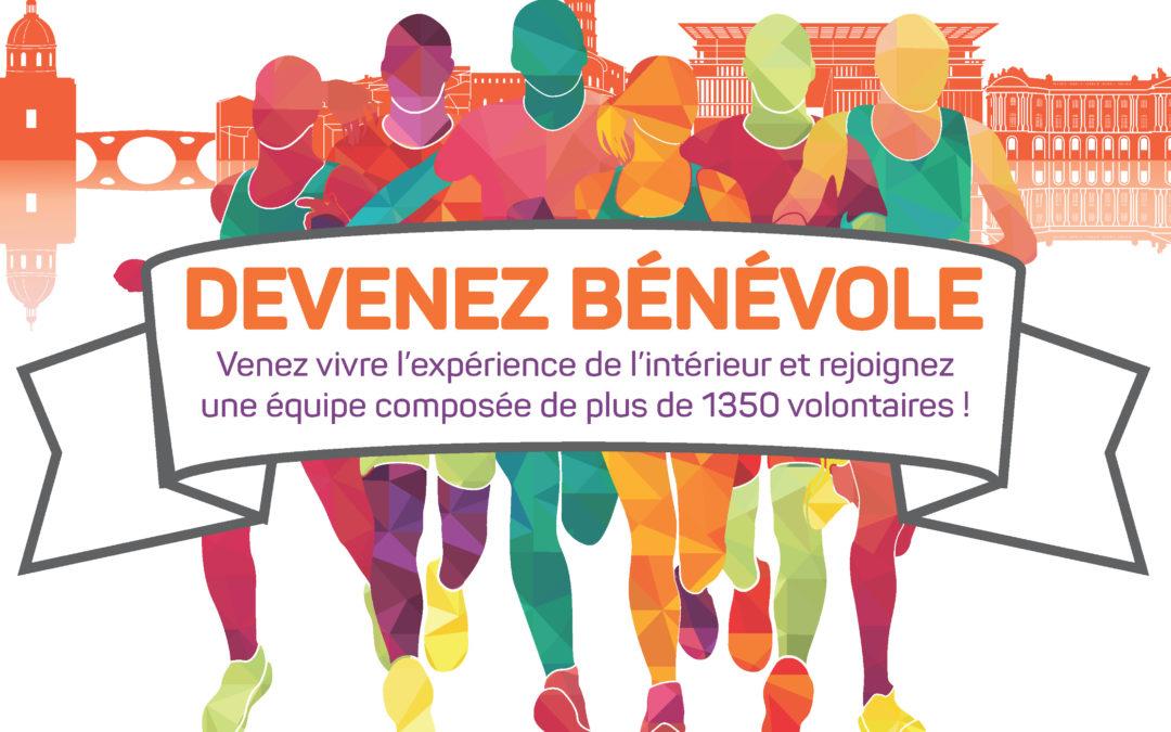 MARATHON DE TOULOUSE: les inscriptions des bénévoles sont ouvertes!