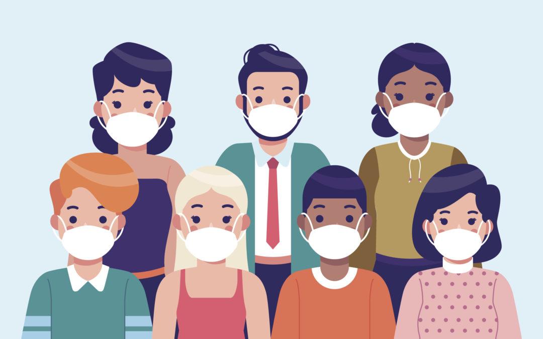 COVID-19 : Attention, le port du masque, en extérieur, reste obligatoire dans certaines situations.
