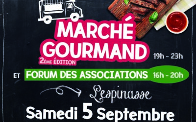 MARCHÉ GOURMAND & FORUM DES ASSOCIATIONS