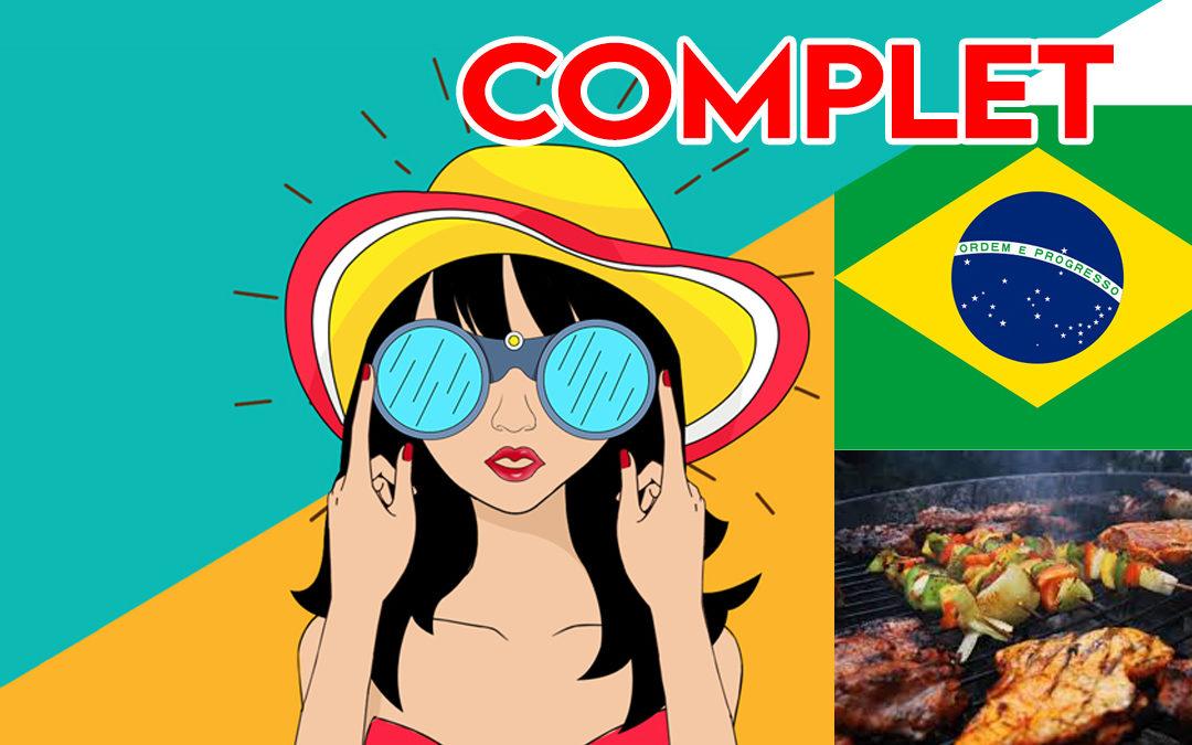 ESTIVALES | ANIMATION BRÉSILIENNE ET APERO-GRILLADES – ***COMPLET***