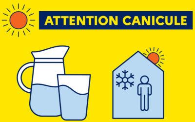 ALERTE CANICULE – Niveau Orange : Soyez vigilant, adoptez les bons réflexes