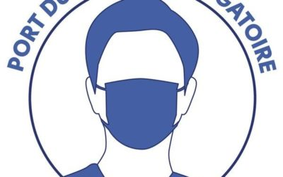 COVID-19 : Masque obligatoire aux abords des établissements scolaires et lors des rassemblements de +10 personnes