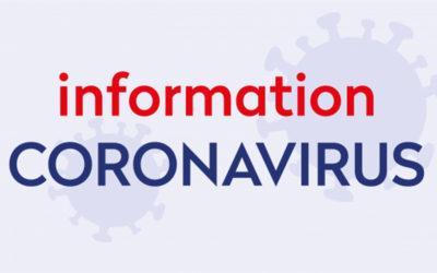 INFORMATION COVID-19 : Confinement, comment adapter son quotidien !
