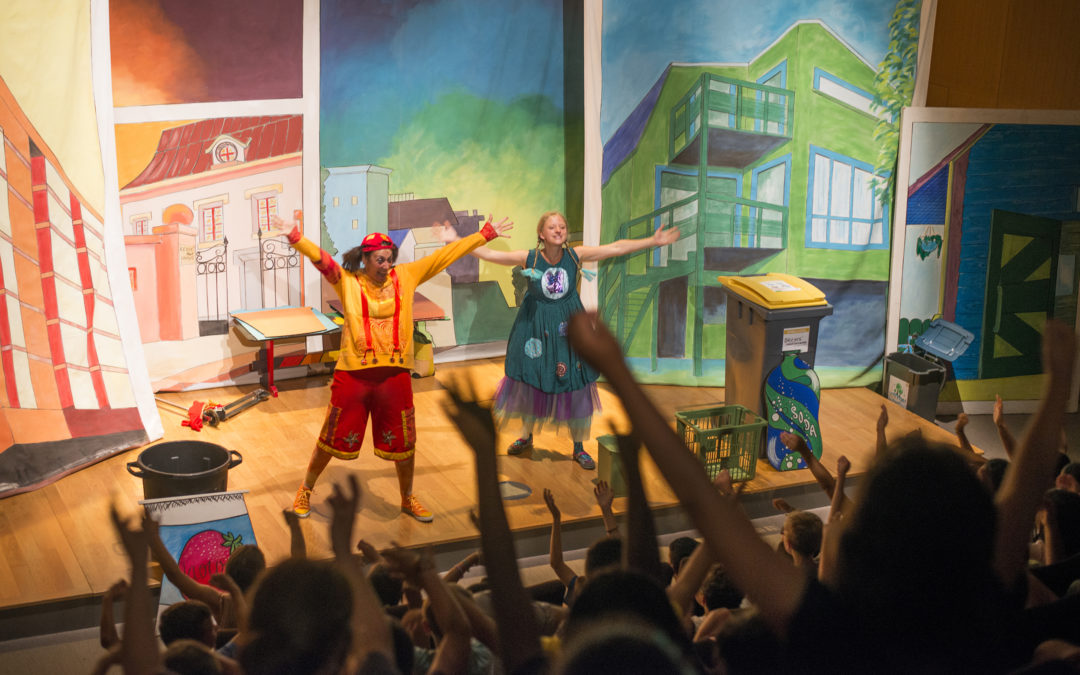 "SPECTACLE SCOLAIRE – ""One, Two, Tri !"" EN SUSPENS"