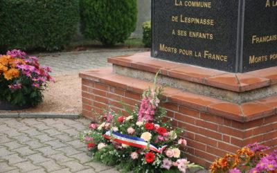 CÉRÉMONIE DU 11 NOVEMBRE : Une commémoration en comité restreint