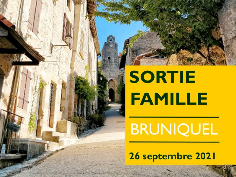 """""""SORTIE FAMILLE"""" : une journée à Bruniquel"""