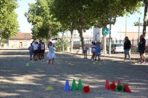 Boules lyonnaises centre de loisirs 25/08/2020