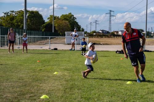 ESTIVALES LESPINASSOISESInitiation au rugby 22/08/2020
