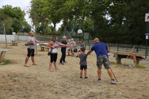 ESTIVALES LESPINASSOISESKobudo sportif : Initiation  26/08/2020