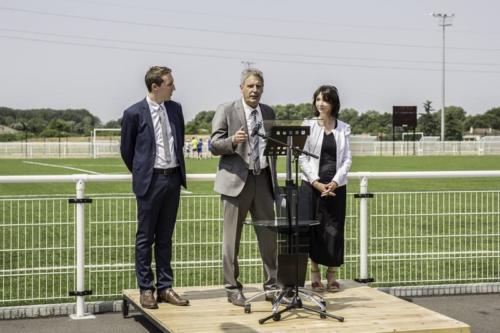 Inauguration Complexe Sportif Beldou