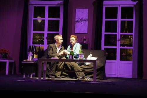 Théâtre, Le poireau, l'endive et l'Elysée, soirée du 28 février 2015
